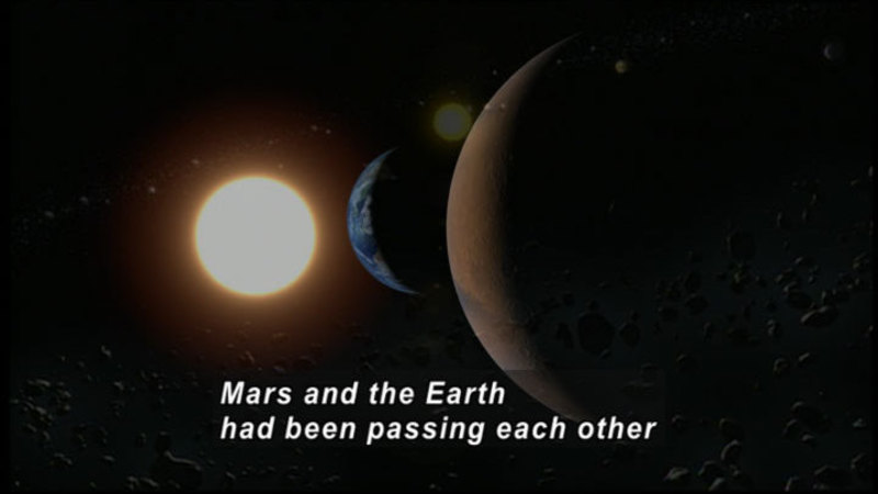 Still image from The Universe: Mars, the Red Planet