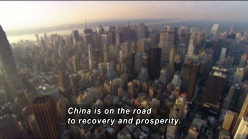 Still image from: Wall Street & The Emergence Of Asia