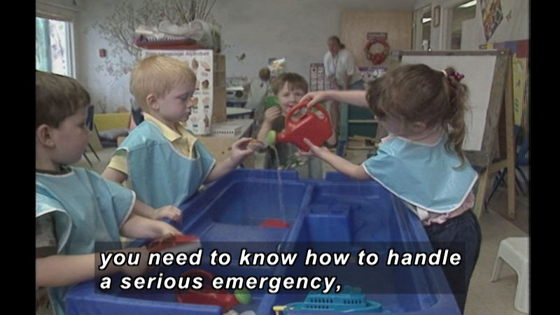 Still image from: Infant & Toddler Emergency First Aid: Illnesses