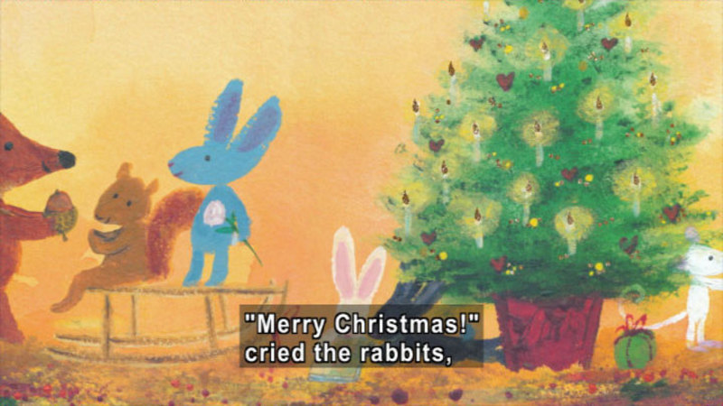 Still image from: Fletcher And The Snowflake Christmas