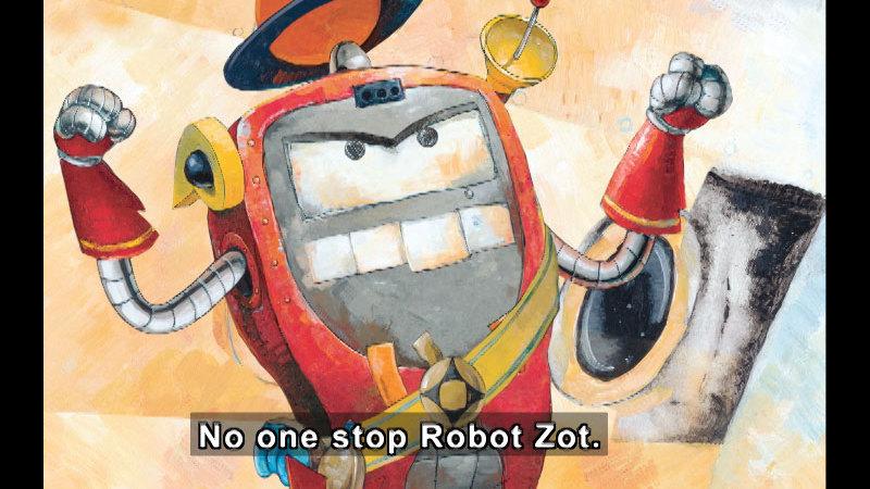 Still image from: Robot Zot!