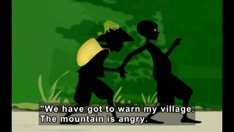 Still image from Moko: The Angry Mountain