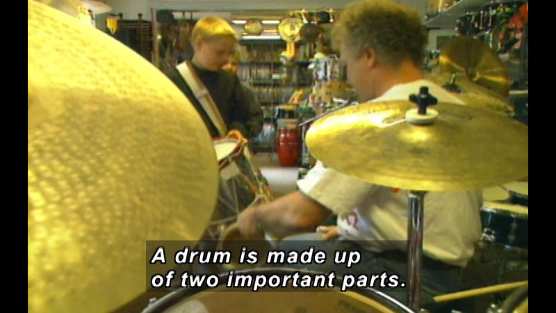 Still image from: Denmark: Christian And His Drum