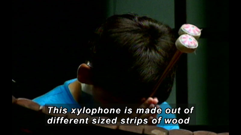 Still image from: Thailand: Wirag And His Xylophone