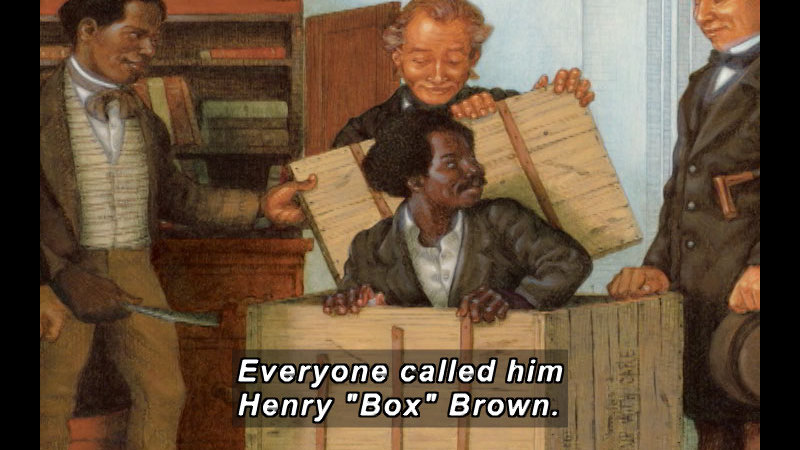 Still image from: Henry's Freedom Box