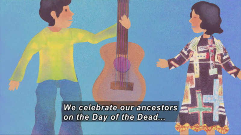 Still image from: The Day Of The Dead