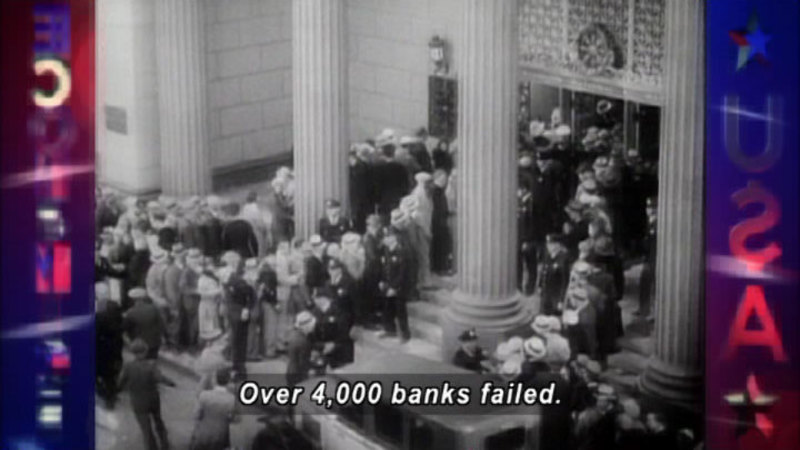 Still image from: The Great Depression And The Keynsian Revolution: What Did We Learn?