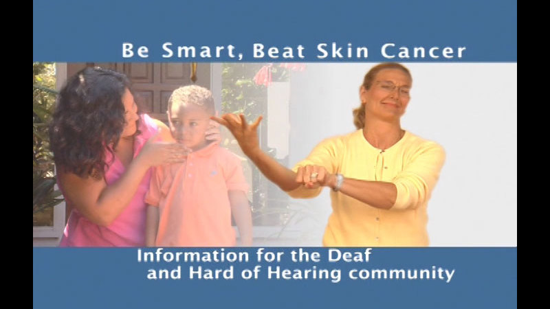 Still image from: Be Smart, Beat Skin Cancer