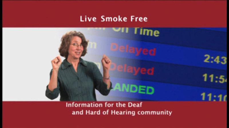 Still image from: Live Smoke Free