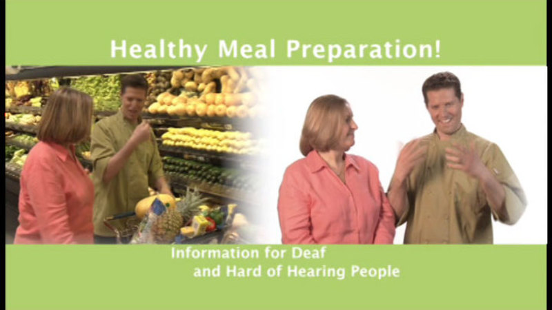 Still image from: Healthy Meal Preparation!