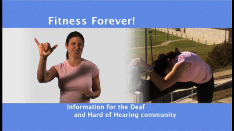 Still image from: Fitness Forever