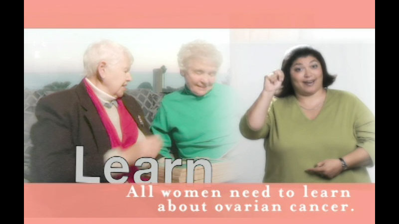 Still image from: Ovarian Cancer