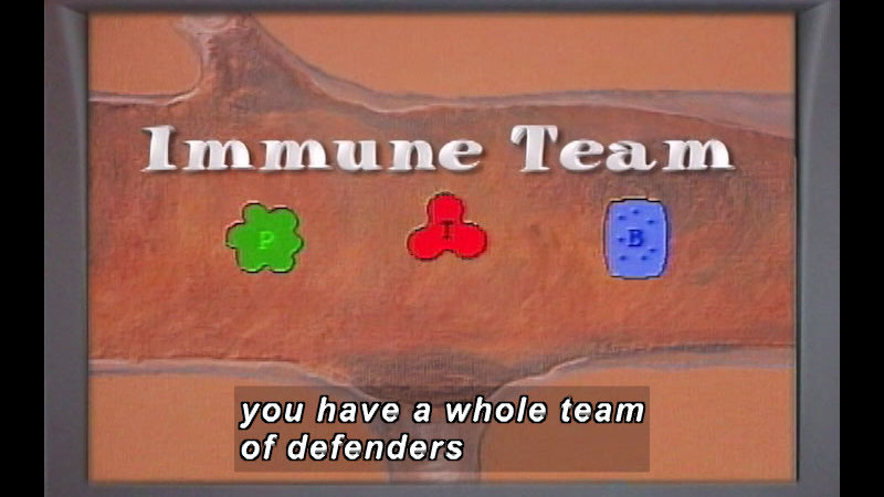 Still image from: Blood VS Germs: News You Can Use