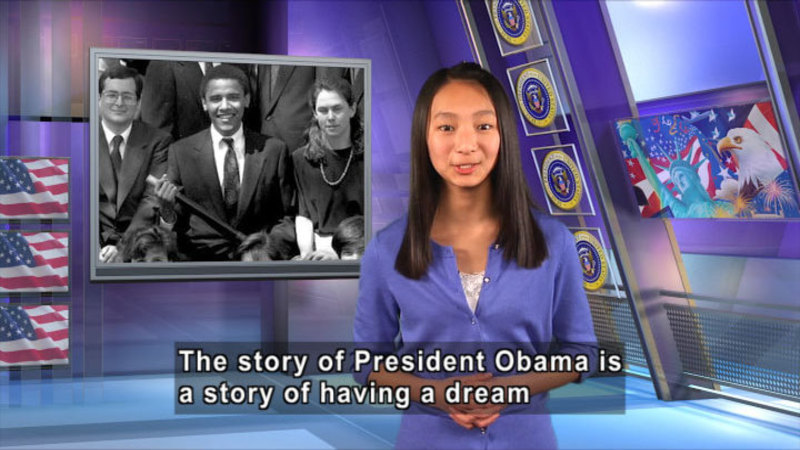 Still image from: Barack Obama: The Story of Our 44th President