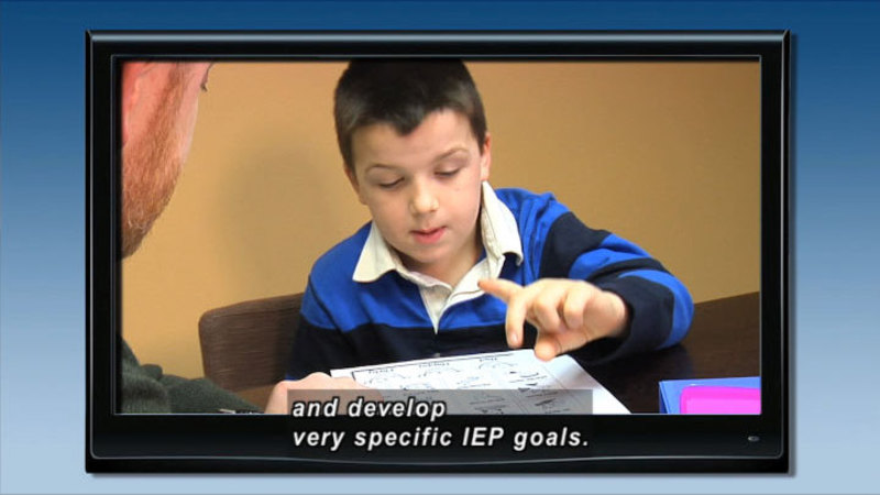 Still image from: Student Health and Safety: Stopping Bullying Through the IEP
