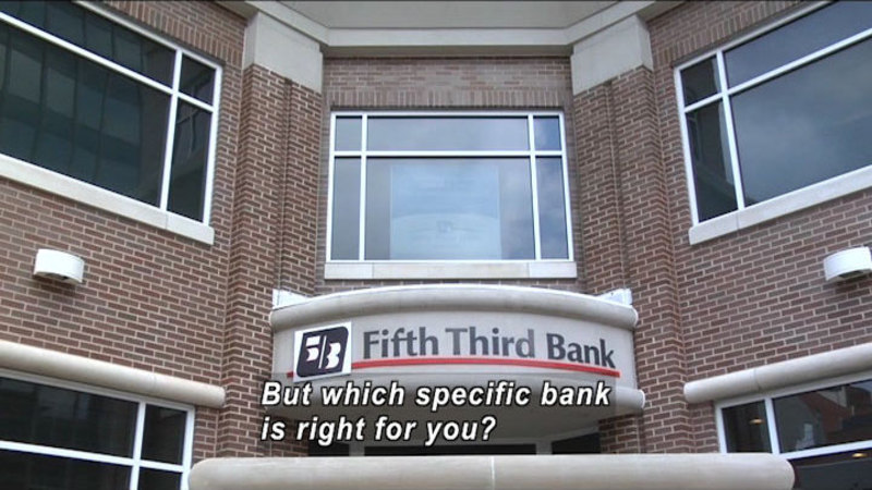 Still image from: Checking Accounts and Everyday Banking