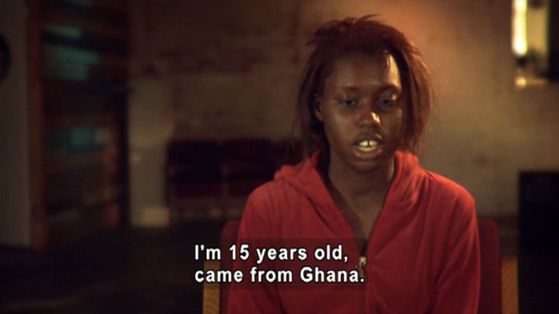 Still image from: Standing Tall: Stories of Resilience