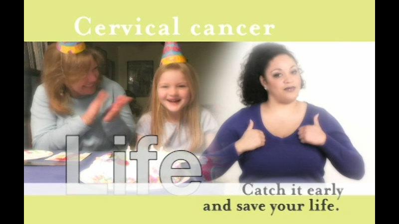 Still image from: Cervical Cancer
