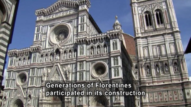 Still image from: The Heart of Florence