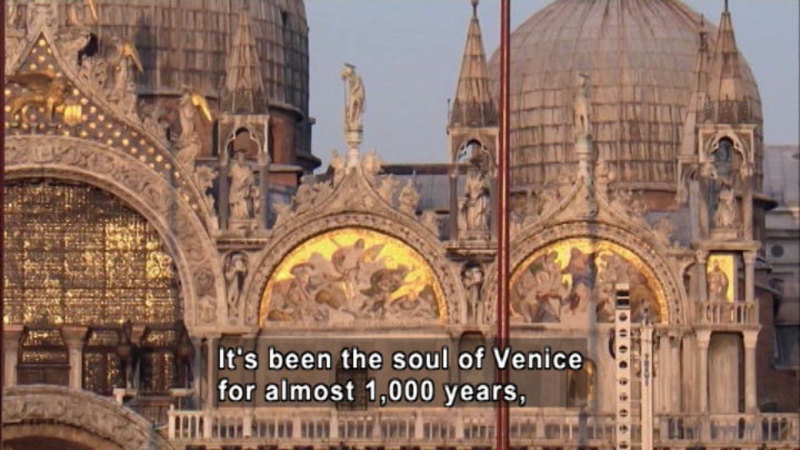 Still image from: The Soul of Venice