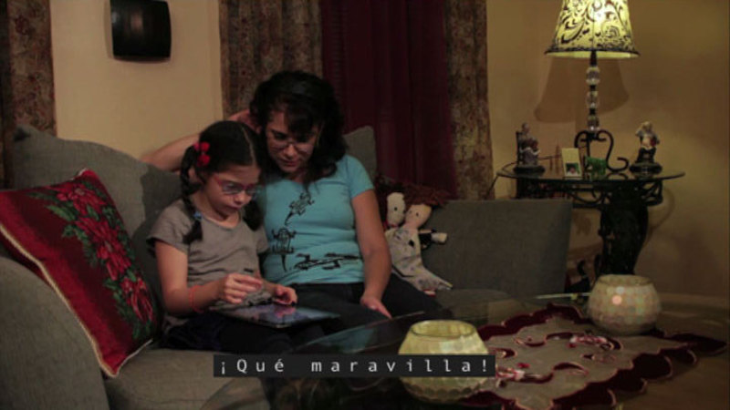 Still image from: Isabel Needs Assistive Technology