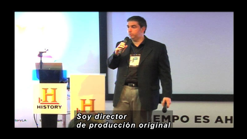 Still image from Science and Technology--History Channel (Spanish)