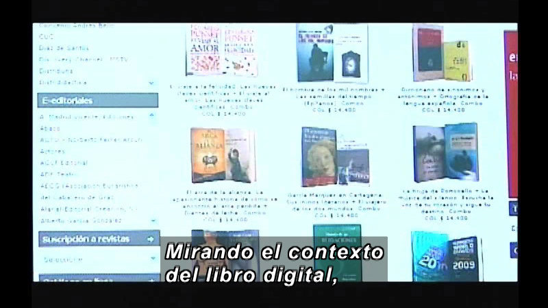 Still image from Science and Technology--Digital Book (Spanish)