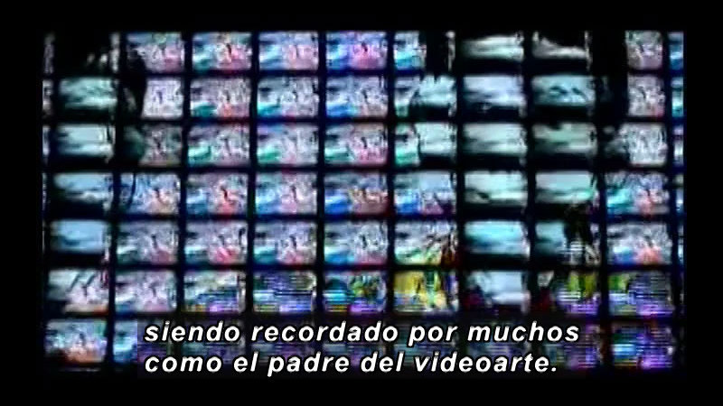 Still image from Science and Technology--Video Art (Spanish)