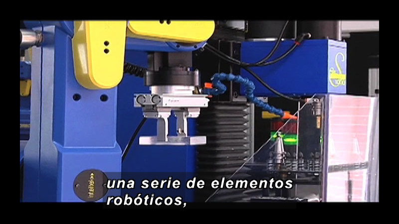 Still image from Science And Technology - Robotics (Spanish)