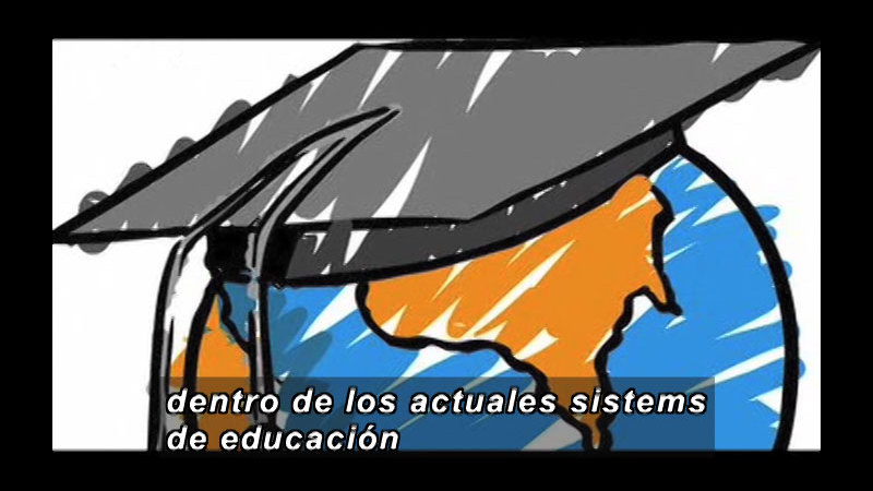 Still image from Science and Technology--Mega University (Spanish)