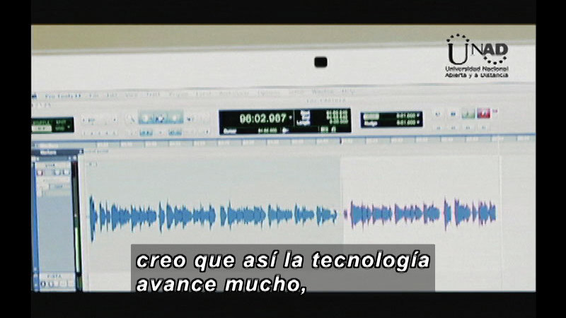 Still image from Science and Technology--Music (Spanish)
