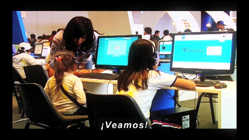 Still image from Science and Technology--Campus Party 2 (Spanish)