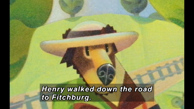 Still image from: Henry Hikes to Fitchburg