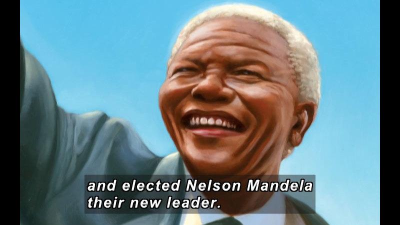 Still image from: Nelson Mandela