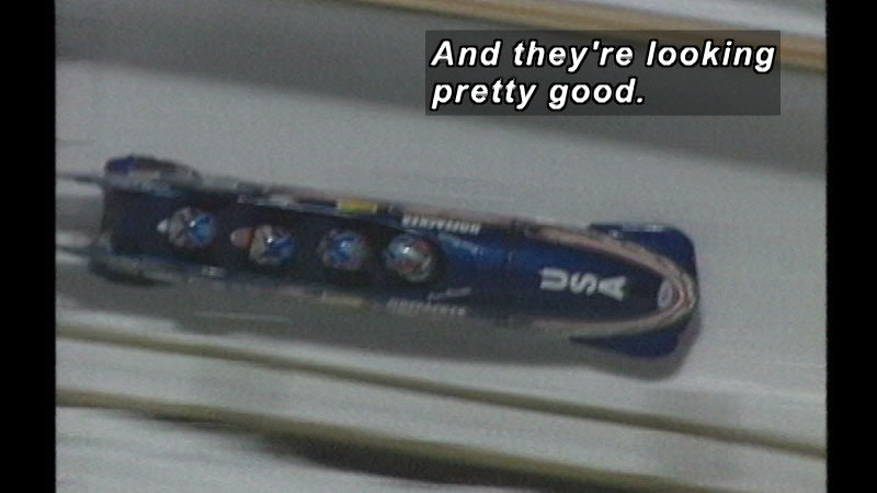 Still image from: Bobsled Racing: America's Cup Race