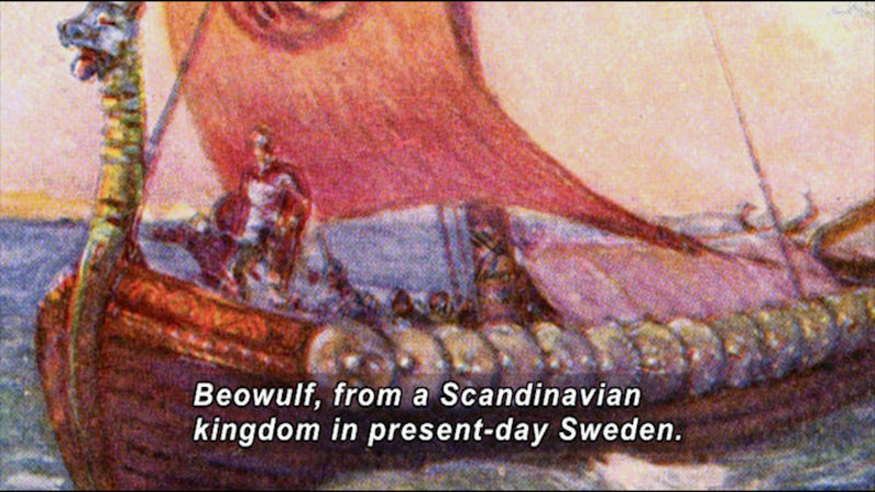 Still image from: Great Authors of the British Isles: Beowulf to Shakespeare