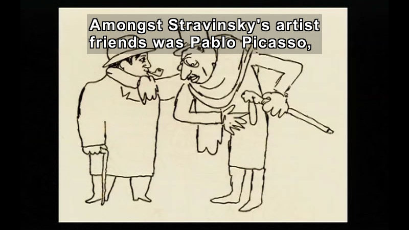 Still image from: Igor Fyodorovich Stravinsky: A Concise Biography