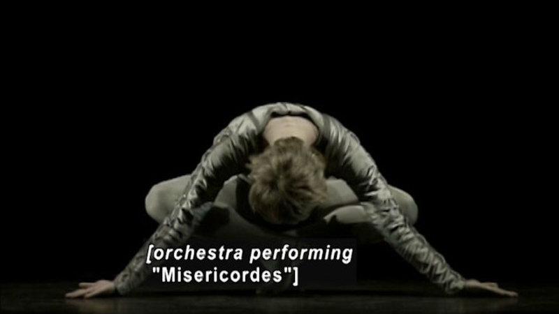 Still image from: Strictly Bolshoi: Christopher Wheeldon's Misericordes/Elsinore