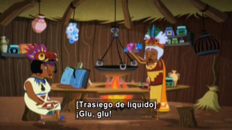 Still image from Medialuna And The Magic Nights: Witches Meeting (Spanish)