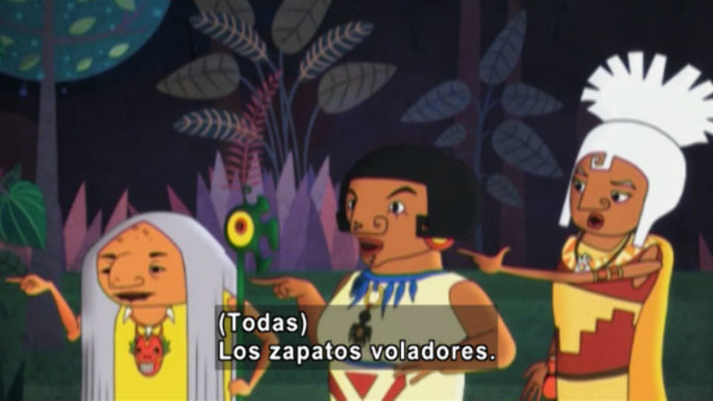 Still image from Medialuna and the Magic Nights: Witches Competition (Spanish)
