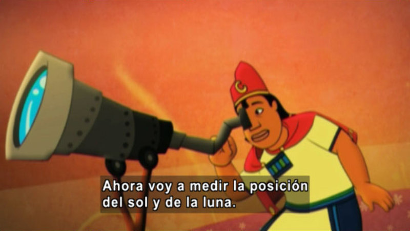 Still image from Medialuna And The Magic Nights: The Eclipse (Spanish)