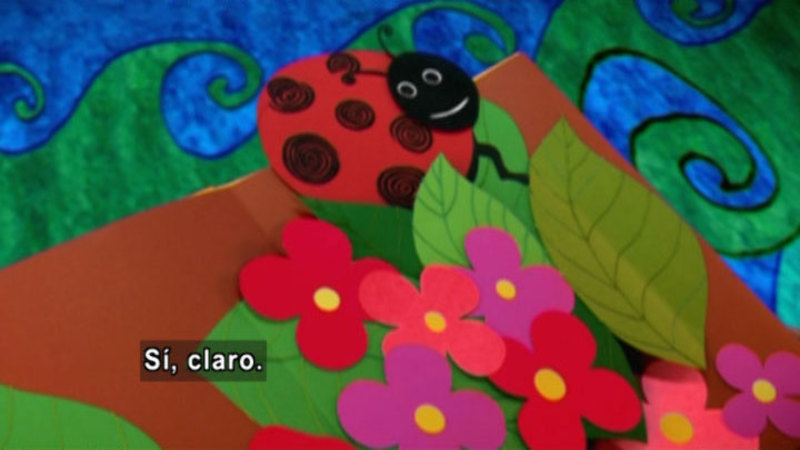 Still image from Animapaka: Ladybug (Spanish)