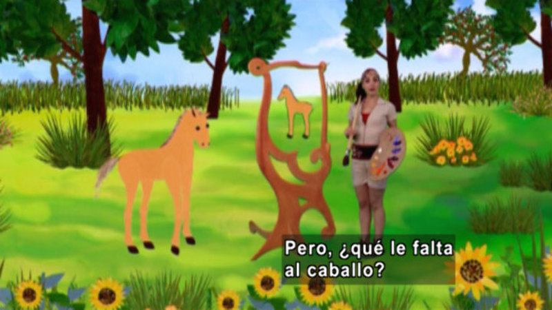 Still image from Animapaka: Horse (Spanish)