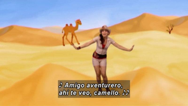 Still image from Animapaka: Camel (Spanish)