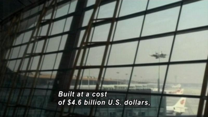 Still image from: Beijing Airport