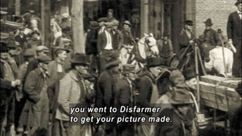 Still image from: Disfarmer: A Portrait of America