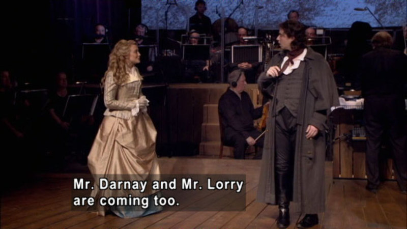 Still image from: A Tale of Two Cities in Concert