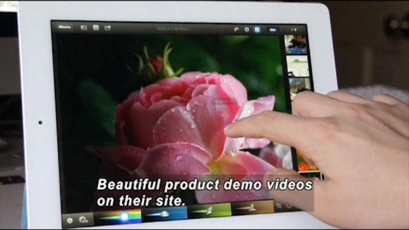 Still image from: Mark It: Digital Brands