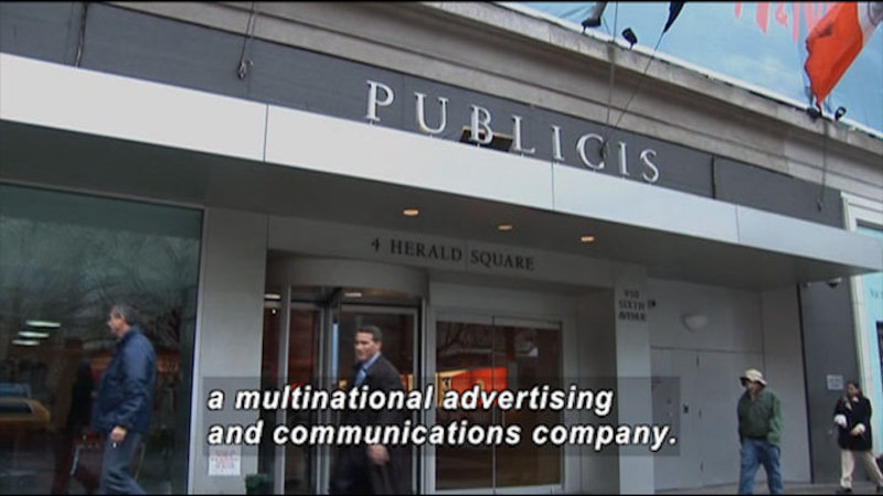 Still image from: AD Factory: Publicis (NYC)