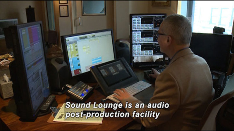 Still image from: AD Factory: Sound Lounge (NYC)
